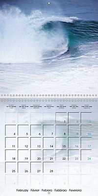 Surfing Passion (Wall Calendar 2019 300 × 300 mm Square) - Produktdetailbild 2