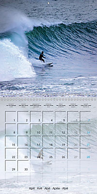Surfing Passion (Wall Calendar 2019 300 × 300 mm Square) - Produktdetailbild 4