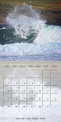 Surfing Passion (Wall Calendar 2019 300 × 300 mm Square) - Produktdetailbild 6