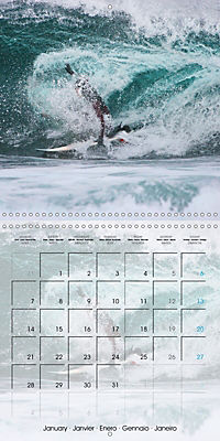Surfing Passion (Wall Calendar 2019 300 × 300 mm Square) - Produktdetailbild 1