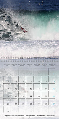 Surfing Passion (Wall Calendar 2019 300 × 300 mm Square) - Produktdetailbild 9