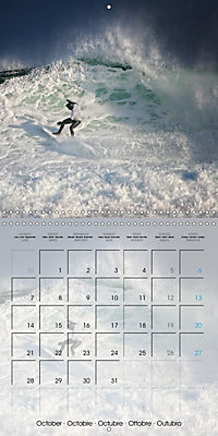Surfing Passion (Wall Calendar 2019 300 × 300 mm Square) - Produktdetailbild 10