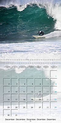 Surfing Passion (Wall Calendar 2019 300 × 300 mm Square) - Produktdetailbild 12