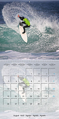 Surfing Passion (Wall Calendar 2019 300 × 300 mm Square) - Produktdetailbild 8