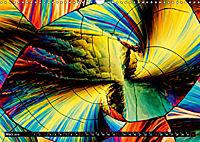 Surreale Farbwelten - Mikrokristalle (Wandkalender 2019 DIN A3 quer) - Produktdetailbild 3