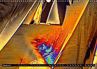 Surreale Farbwelten - Mikrokristalle (Wandkalender 2019 DIN A3 quer) - Produktdetailbild 1