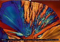 Surreale Farbwelten - Mikrokristalle (Wandkalender 2019 DIN A2 quer) - Produktdetailbild 4