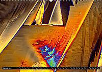 Surreale Farbwelten - Mikrokristalle (Wandkalender 2019 DIN A2 quer) - Produktdetailbild 1