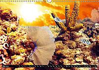 Surreale Unterwasserwelt (Wandkalender 2019 DIN A3 quer) - Produktdetailbild 5