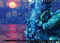 Surreale Unterwasserwelt (Wandkalender 2019 DIN A4 quer) - Produktdetailbild 3