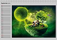 Surrealer Traum (Tischkalender 2019 DIN A5 quer) - Produktdetailbild 9