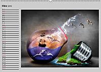 Surrealer Traum (Wandkalender 2019 DIN A2 quer) - Produktdetailbild 3