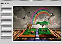 Surrealer Traum (Wandkalender 2019 DIN A2 quer) - Produktdetailbild 2