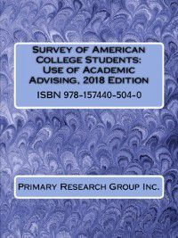 Survey of American College Students: Use of Academic Advising, Primary Research Group Staff