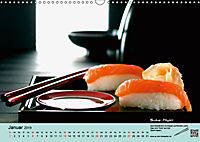 Sushi - Sashimi mit Anleitung für perfektes Gelingen (Wandkalender 2019 DIN A3 quer) - Produktdetailbild 1