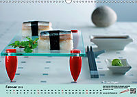 Sushi - Sashimi mit Anleitung für perfektes Gelingen (Wandkalender 2019 DIN A3 quer) - Produktdetailbild 2