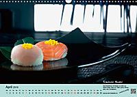 Sushi - Sashimi mit Anleitung für perfektes Gelingen (Wandkalender 2019 DIN A3 quer) - Produktdetailbild 4
