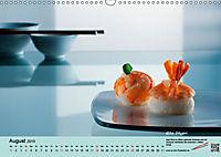 Sushi - Sashimi mit Anleitung für perfektes Gelingen (Wandkalender 2019 DIN A3 quer) - Produktdetailbild 8