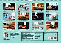 Sushi - Sashimi mit Anleitung für perfektes Gelingen (Wandkalender 2019 DIN A3 quer) - Produktdetailbild 13
