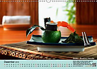 Sushi - Sashimi mit Anleitung für perfektes Gelingen (Wandkalender 2019 DIN A3 quer) - Produktdetailbild 12