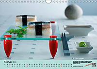 Sushi - Sashimi mit Anleitung für perfektes Gelingen (Wandkalender 2019 DIN A4 quer) - Produktdetailbild 2