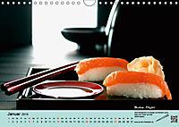 Sushi - Sashimi mit Anleitung für perfektes Gelingen (Wandkalender 2019 DIN A4 quer) - Produktdetailbild 1