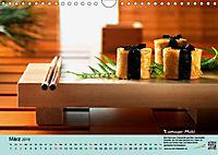 Sushi - Sashimi mit Anleitung für perfektes Gelingen (Wandkalender 2019 DIN A4 quer) - Produktdetailbild 3