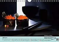 Sushi - Sashimi mit Anleitung für perfektes Gelingen (Wandkalender 2019 DIN A4 quer) - Produktdetailbild 7