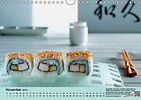 Sushi - Sashimi mit Anleitung für perfektes Gelingen (Wandkalender 2019 DIN A4 quer) - Produktdetailbild 11