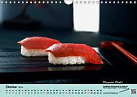 Sushi - Sashimi mit Anleitung für perfektes Gelingen (Wandkalender 2019 DIN A4 quer) - Produktdetailbild 10