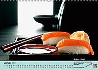 Sushi - Sashimi mit Anleitung für perfektes Gelingen (Wandkalender 2019 DIN A2 quer) - Produktdetailbild 1