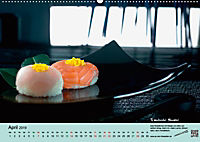Sushi - Sashimi mit Anleitung für perfektes Gelingen (Wandkalender 2019 DIN A2 quer) - Produktdetailbild 4