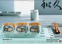 Sushi - Sashimi mit Anleitung für perfektes Gelingen (Wandkalender 2019 DIN A2 quer) - Produktdetailbild 11
