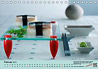 Sushi - Sashimi mit Anleitung für perfektes Gelingen (Tischkalender 2019 DIN A5 quer) - Produktdetailbild 2