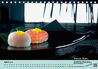 Sushi - Sashimi mit Anleitung für perfektes Gelingen (Tischkalender 2019 DIN A5 quer) - Produktdetailbild 4