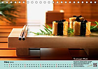 Sushi - Sashimi mit Anleitung für perfektes Gelingen (Tischkalender 2019 DIN A5 quer) - Produktdetailbild 3