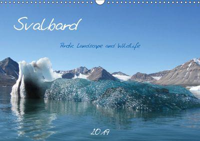 Svalbard / UK-Version (Wall Calendar 2019 DIN A3 Landscape), Brigitte Schlögl