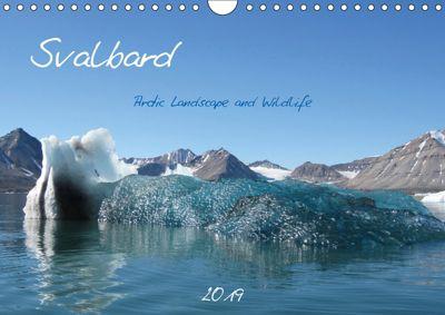 Svalbard / UK-Version (Wall Calendar 2019 DIN A4 Landscape), Brigitte Schlögl