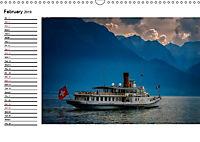 Swiss lakeside views (Wall Calendar 2019 DIN A3 Landscape) - Produktdetailbild 2