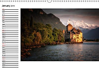 Swiss lakeside views (Wall Calendar 2019 DIN A3 Landscape) - Produktdetailbild 1