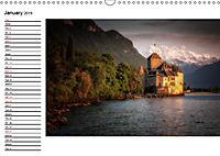 Swiss lakeside views (Wall Calendar 2019 DIN A3 Landscape) - Produktdetailbild 1