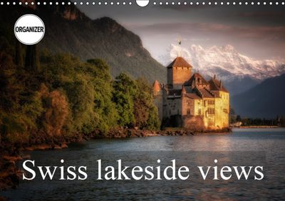 Swiss lakeside views (Wall Calendar 2019 DIN A3 Landscape), Alain Gaymard