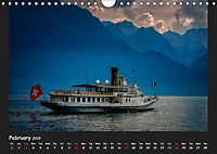 Swiss lakeside views (Wall Calendar 2019 DIN A4 Landscape) - Produktdetailbild 2