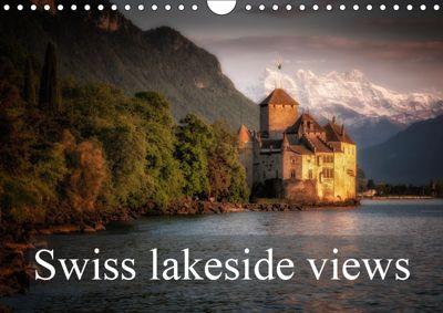 Swiss lakeside views (Wall Calendar 2019 DIN A4 Landscape), Alain Gaymard
