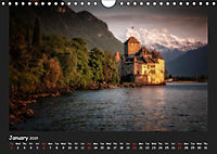 Swiss lakeside views (Wall Calendar 2019 DIN A4 Landscape) - Produktdetailbild 1
