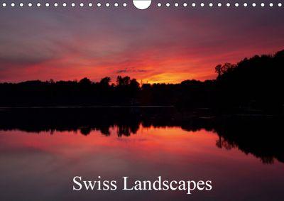Swiss Landscapes (Wall Calendar 2019 DIN A4 Landscape), Thomas Wahli