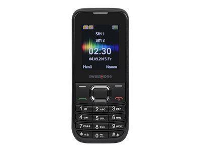 SWISSTONE SC 230 schwarz Dual-Sim Bluetooth Taschenlampe Kamera Freisprechfunktion Alarmfunktion Kalender 150 Telefonbucheinträge