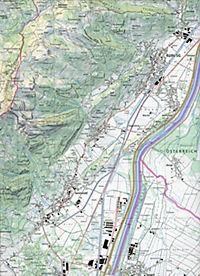 Swisstopo 1 : 25 000 Säntis - Produktdetailbild 2