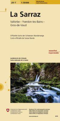 Swisstopo 1 : 50 000 La Sarraz Wanderkarte -  pdf epub