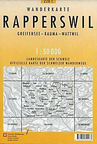 Swisstopo 1 : 50 000 Rapperswil - Produktdetailbild 1